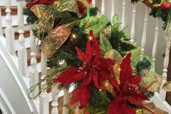 Close-Up of Garland - Holiday Decorations in Omaha, NE | Vickie Lea Designs