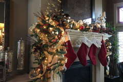 Stockings & Fireplace Decorations - Holiday Decorations in Omaha, NE | Vickie Lea Designs