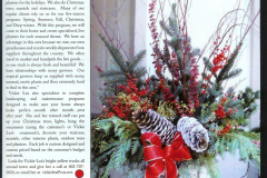 Winter Planter & Flower Arrangements - Holiday Decorations in Omaha, NE | Vickie Lea Designs